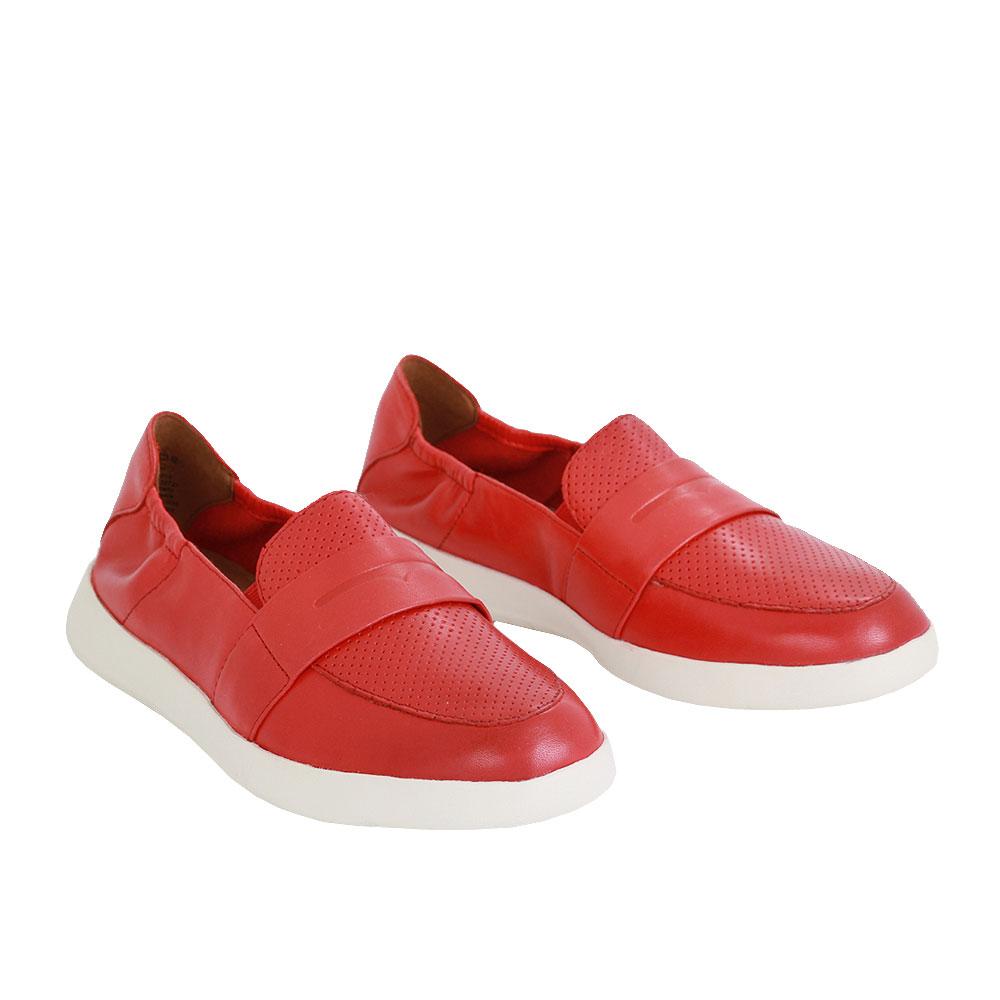 Dámské boty Tamaris 1-24704-24 Červená Kůže
