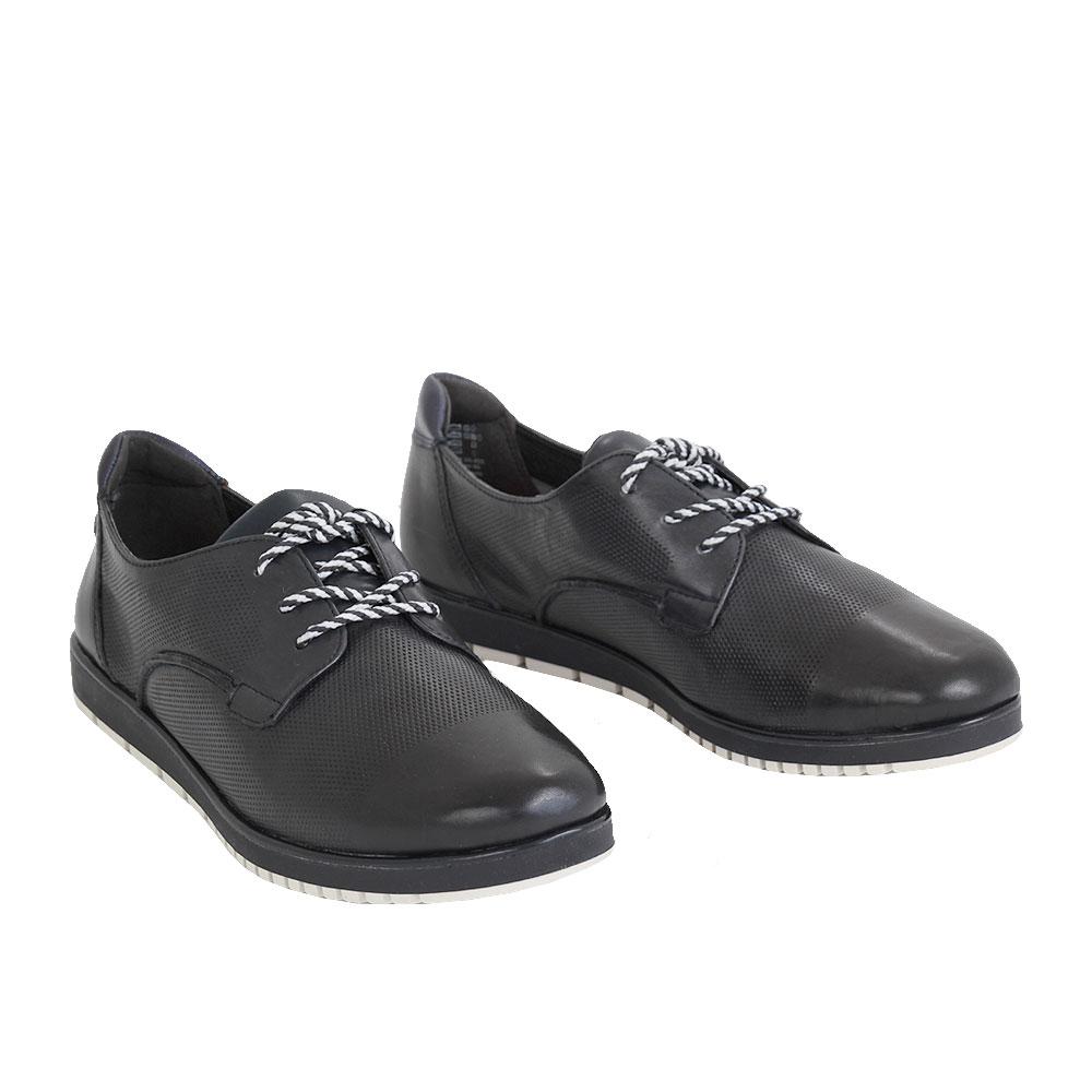Dámské boty Tamaris 1-23604-24 Navy Kůže