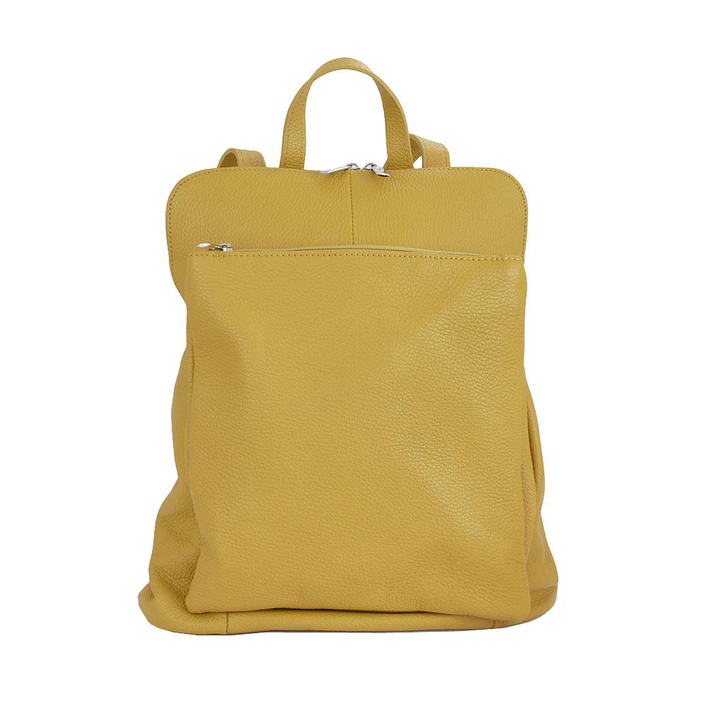 Italská kabelka Alonzo Grande žlutá Kůže