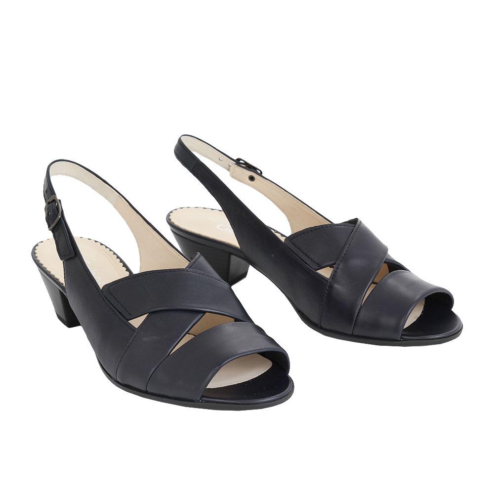 Dámské boty Gabor 4657156 Černá Kůže