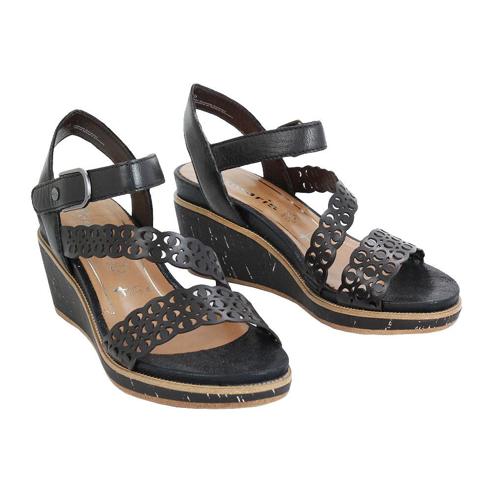 Dámské boty Tamaris 1-28022-24 Černá kůže/syntetika