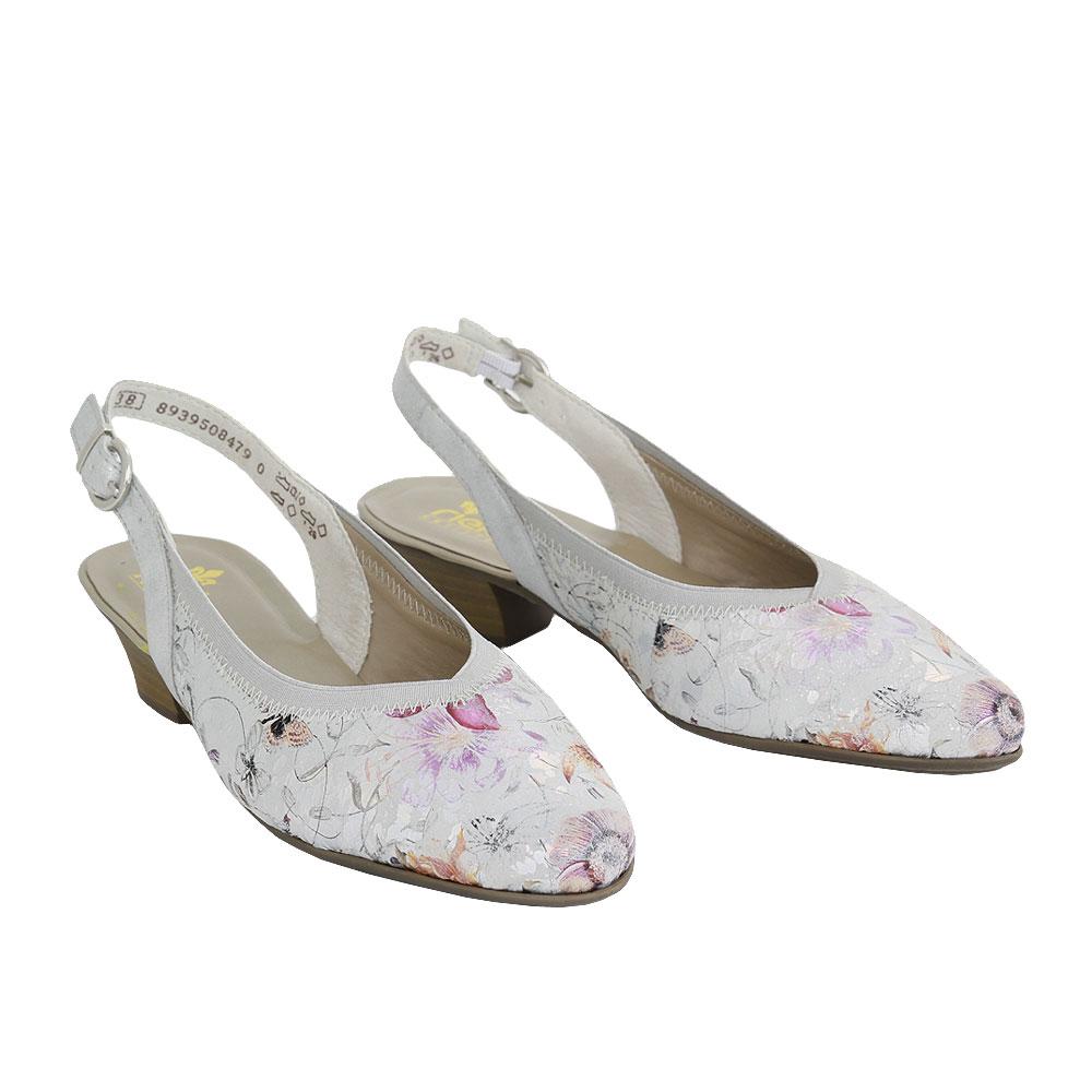 Dámské boty Rieker 85063-91 multi kůže/syntetika