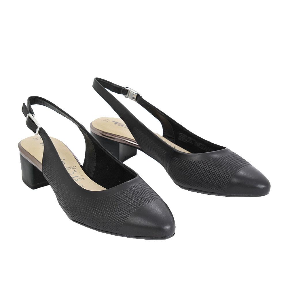 Dámské boty Tamaris 1-29505-24 Černá kůže/syntetika