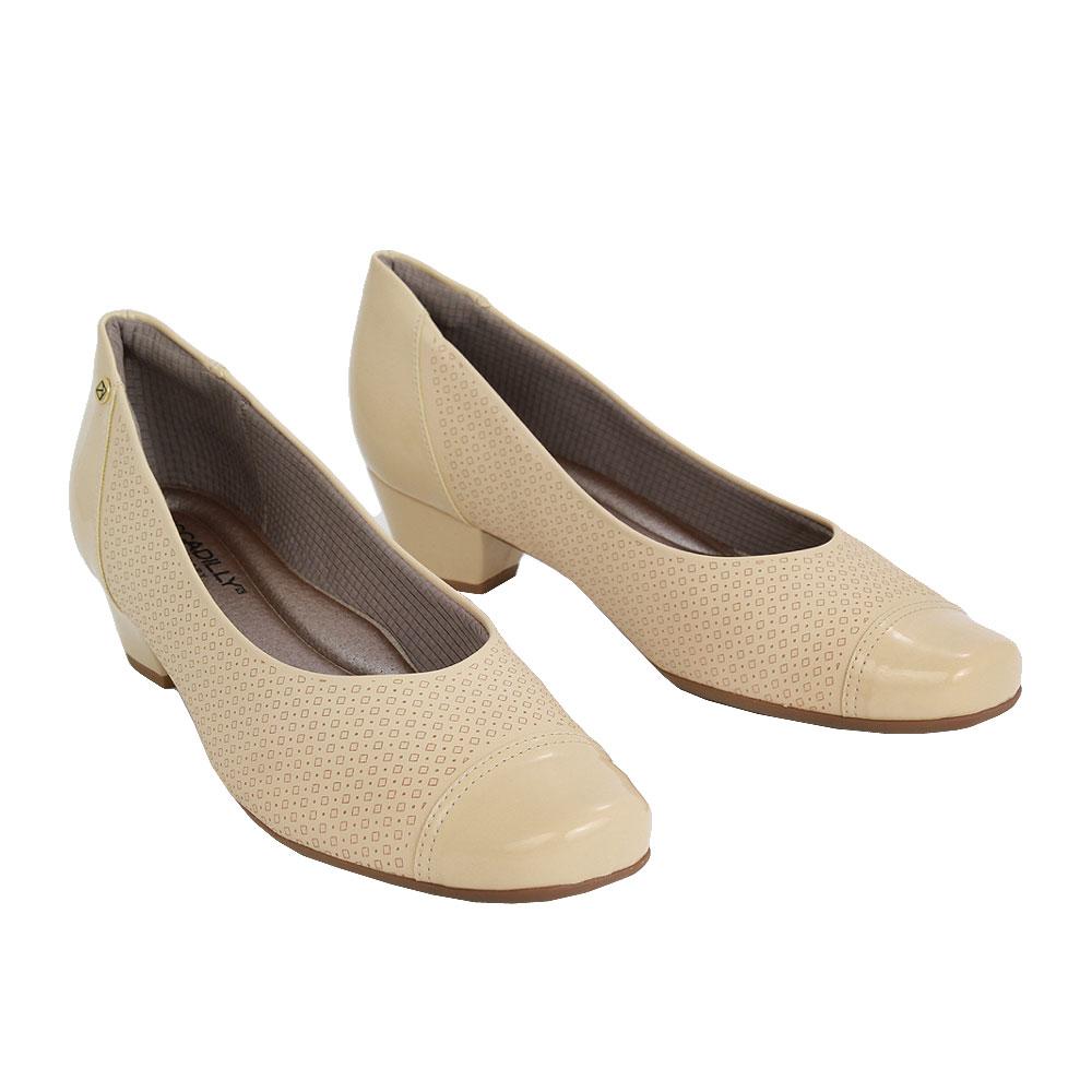 Dámské boty Piccadilly 320308-12 Béžová eko-kůže