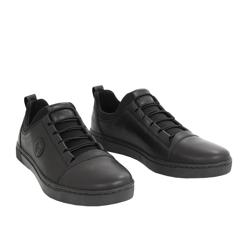 Pánské boty Rieker B1873-00 Černá kůže/syntetika