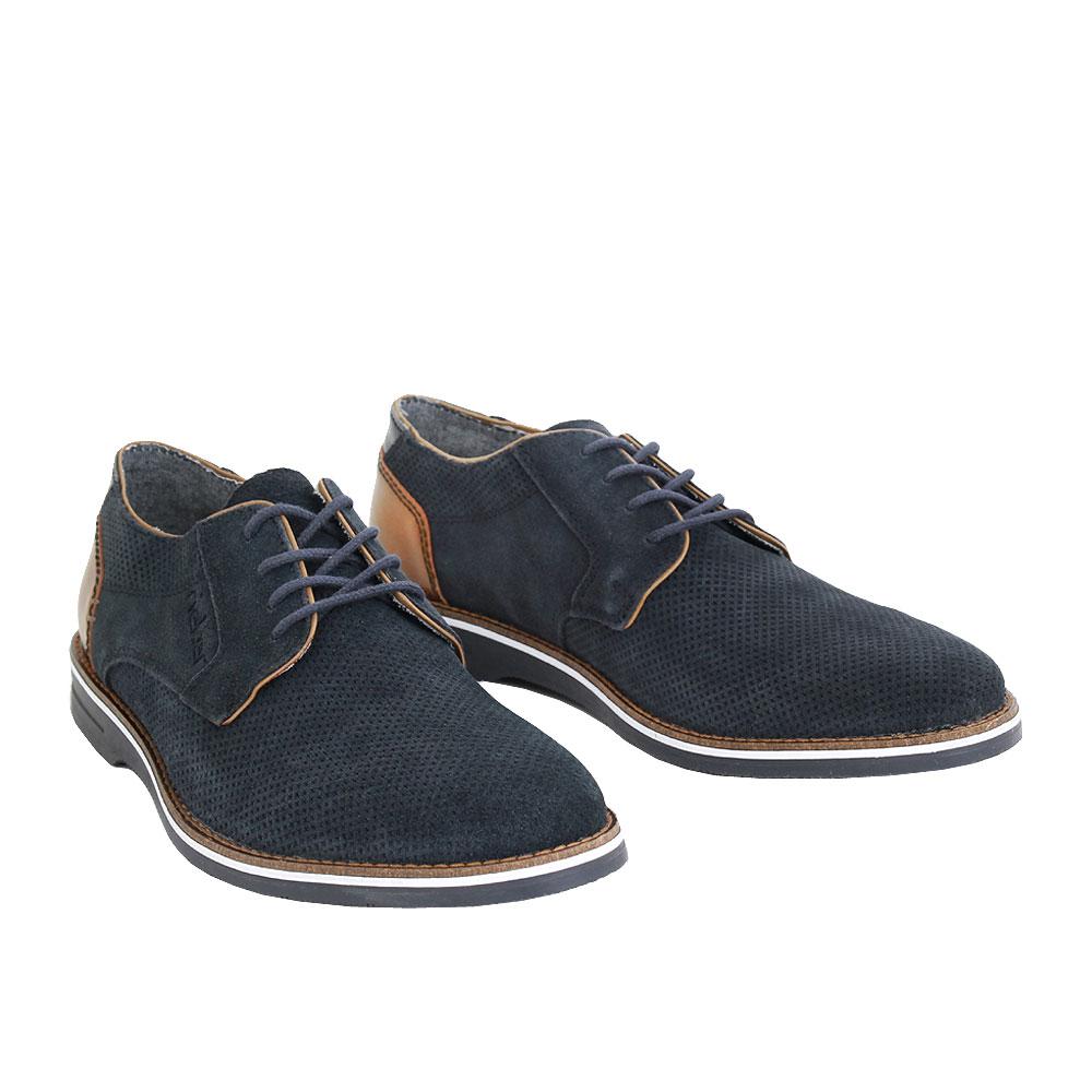 Pánské boty Rieker 12504-14 Modrá kůže/syntetika