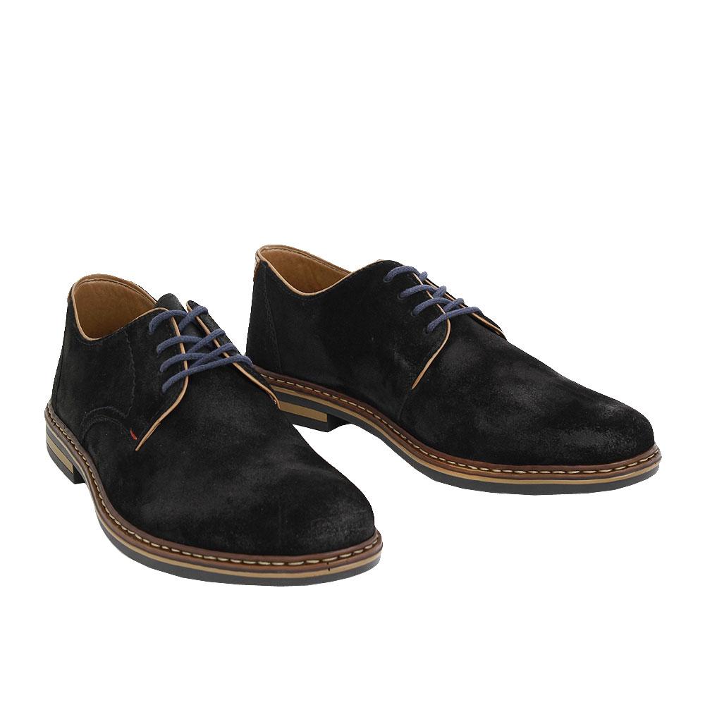 Pánské boty Rieker B1408-00 Černá kůže/syntetika