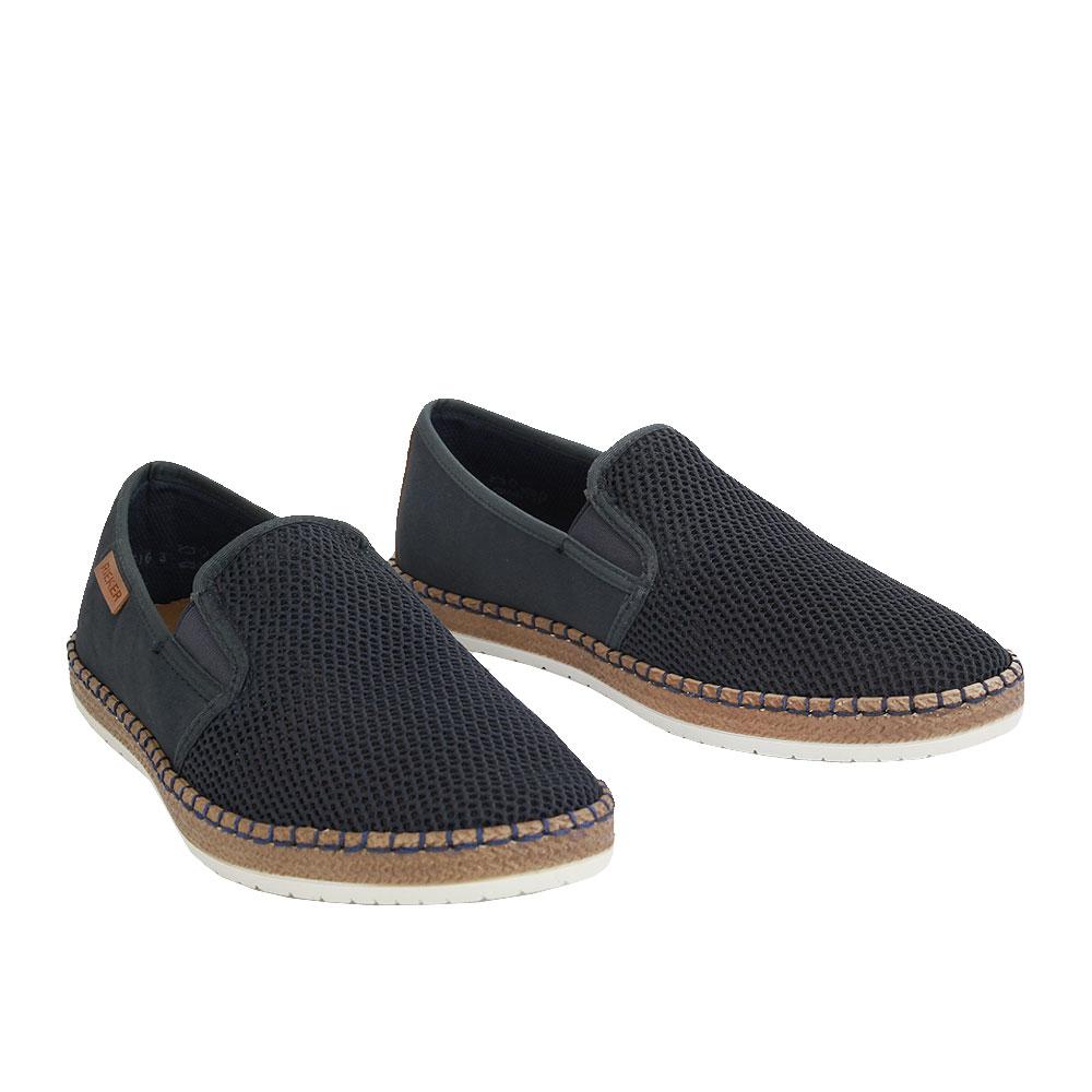 Pánské boty Rieker B5265-14 Modrá kůže/syntetika